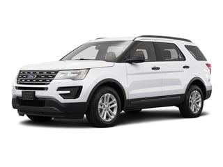 2016 Ford Explorer SUV White Platinum Metallic Tri